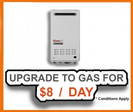 Upgrade To Gas For $8 A Day!