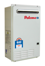 Paloma 24L Continuous Flow Gas Water Heater External